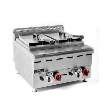 Stainless Steel Auto Grade Fryer/Batch Fryer/Commercial Oilless Fryer