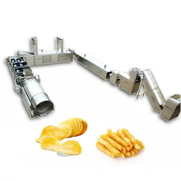 Commercial Potato Lotus Root Chip Cutter Slice Maker Machine #3 image